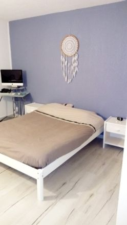 Rent this 1 bed room on 43 Avenue Jean Jaurès in 30000 Nîmes, France