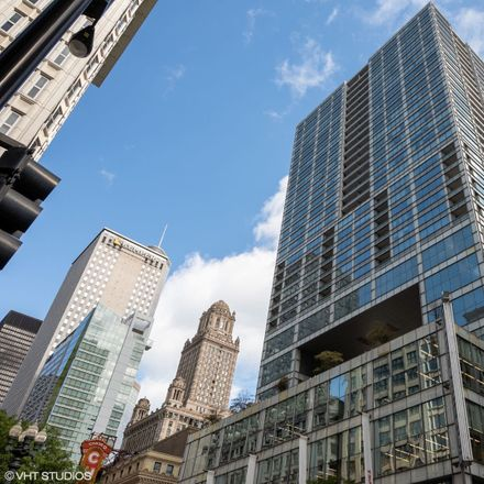 Rent this 1 bed condo on The Residences at The Joffrey Tower in 8 East Randolph Street, Chicago