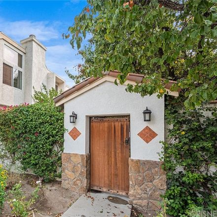 Rent this 3 bed townhouse on Zelzah Avenue in Los Angeles, CA 91330-8449
