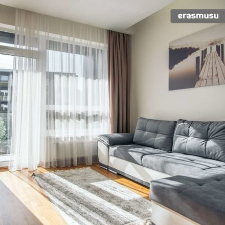 Rent this 1 bed apartment on Grigalaukio g. in Vilnius, Lithuania