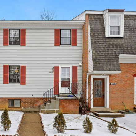 Rent this 4 bed townhouse on Ticonderoga Court in Burke, VA 22015