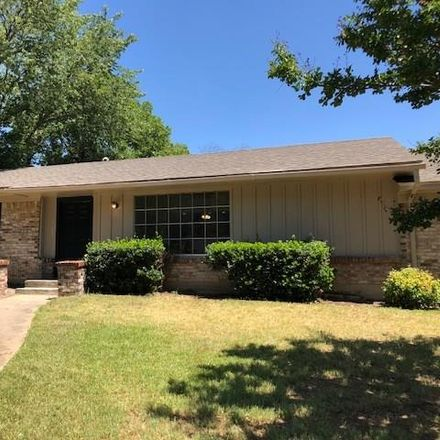 Rent this 4 bed house on 1001 Canterbury Drive in Sherman, TX 75092