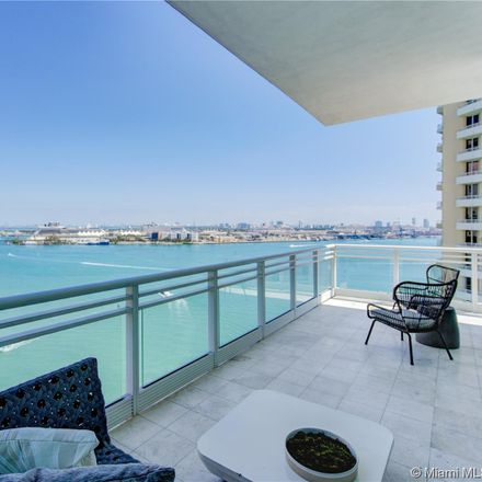 Rent this 2 bed apartment on 900 Brickell Key Boulevard in Miami, FL 33131