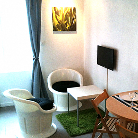 Rent this 1 bed apartment on 38 Rue du Faubourg Saint-Denis in 75010 Paris, France