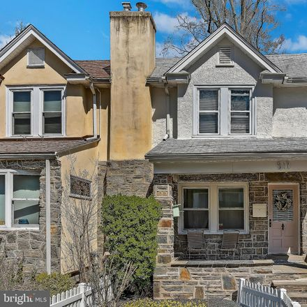 Rent this 3 bed townhouse on 517 Homewood Avenue in Narberth, PA 19072