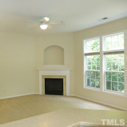 Rent this 3 bed townhouse on 206 Chateau Place in Chapel Hill, NC 27516