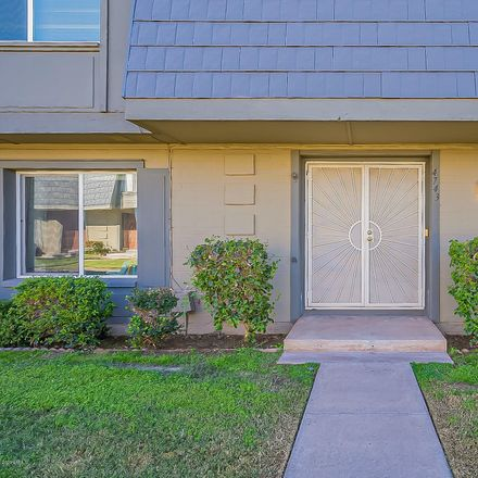 Rent this 3 bed townhouse on 4743 North 21st Avenue in Phoenix, AZ 85015