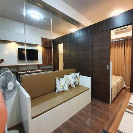 Rent this 1 bed condo on Makati Central Fire Station in Ayala Avenue Extension, Makati