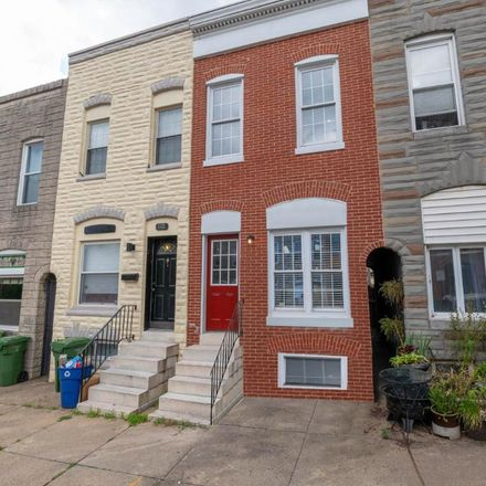 Rent this 3 bed townhouse on 808 South Milton Avenue in Baltimore, MD 21224