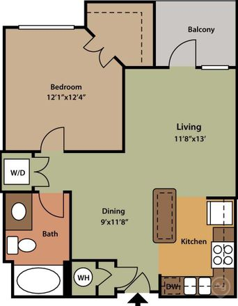 Rent this 1 bed apartment on Gables in Cole Avenue, Dallas