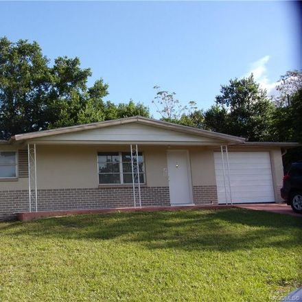 Rent this 2 bed house on N Barbour St in Beverly Hills, FL