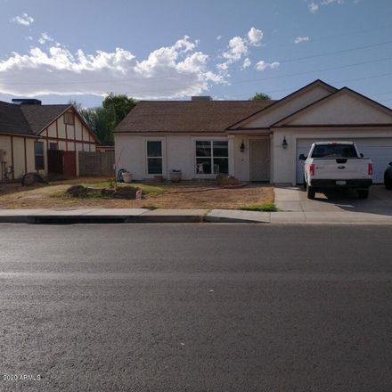Rent this 3 bed house on 1944 North Hamilton Place in Chandler, AZ 85225