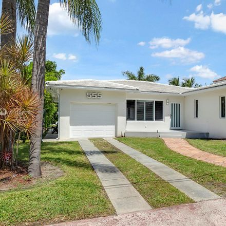Rent this 3 bed house on 555 South Shore Drive in Isle of Normandy, Miami Beach