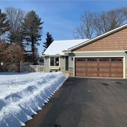 Rent this 3 bed duplex on Blue Karner Drive in Altoona, WI 54720
