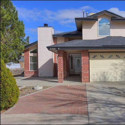 Rent this 4 bed apartment on 5704 Saplinas Road in El Paso, TX 79932