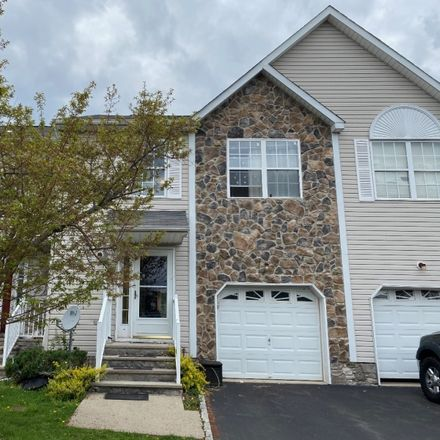Rent this 3 bed townhouse on Franklin Township in Jill Court, Somerset County