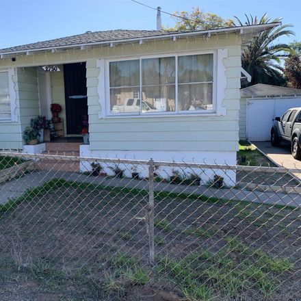 Rent this 3 bed house on 2750 Chaffee Street in National City, CA 91950