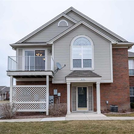 Rent this 2 bed condo on 51747 Adler Park Drive West in Chesterfield Township, MI 48047