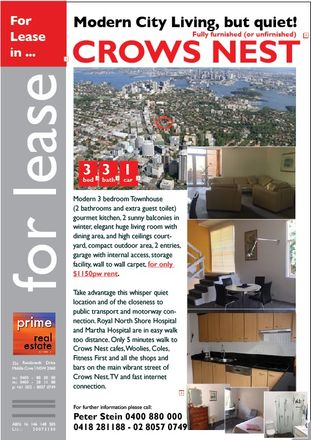 Rent this 3 bed townhouse on 9-15 Hume Street