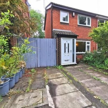 Rent this 2 bed house on Willaston Close in Manchester M21 8BJ, United Kingdom