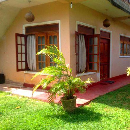 Rent this 3 bed house on Isira Coffee Shop in Sarath Goonawardana Mw, Nalagasdeniya 80240