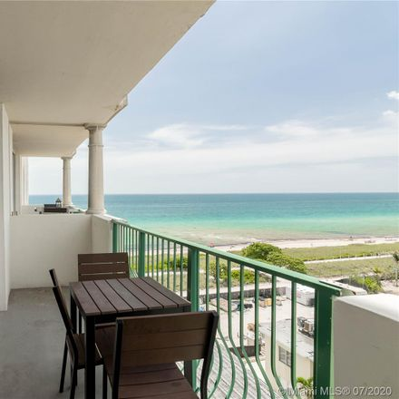 Rent this 2 bed condo on 9195 Collins Avenue in Surfside, FL 33154