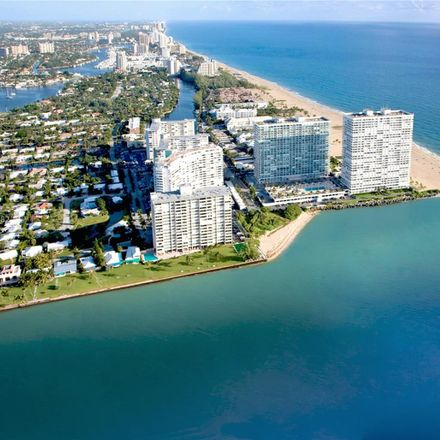 Rent this 2 bed condo on 2100 South Ocean Lane in Fort Lauderdale, FL 33316