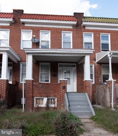 Rent this 3 bed townhouse on 638 Dumbarton Avenue in Baltimore, MD 21218