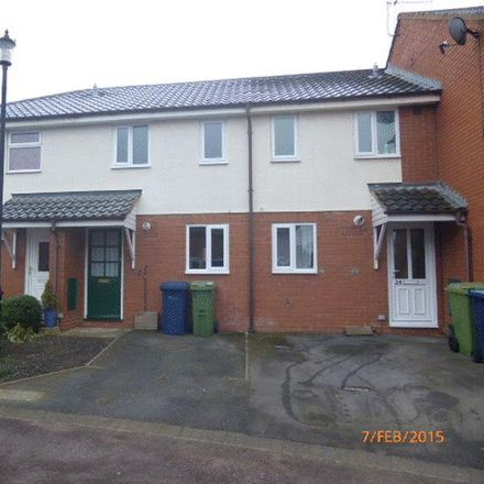 Rent this 1 bed house on Middlehay Court in Tewkesbury GL52 8TE, United Kingdom