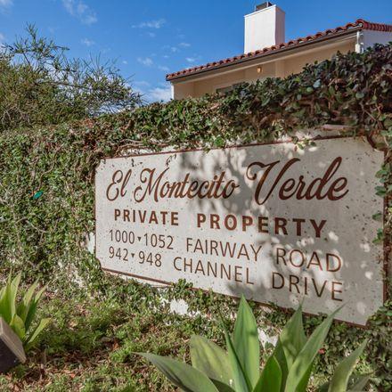 Rent this 1 bed apartment on 1034 Fairway Rd in Santa Barbara, CA