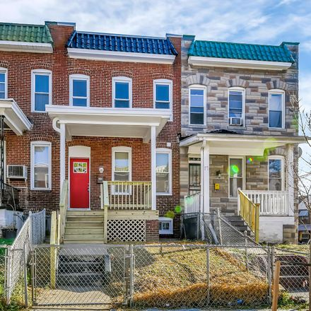 Rent this 3 bed townhouse on 19 North Morley Street in Baltimore, MD 21229