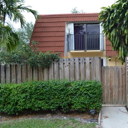 Rent this 2 bed townhouse on 9975 Northwest 7th Street in Plantation, FL 33324