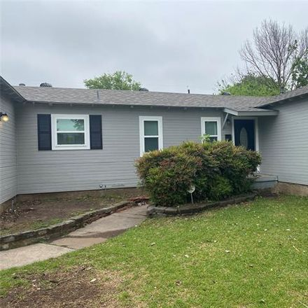 Rent this 3 bed house on 1617 Meadowbrook Drive in Garland, TX 75042