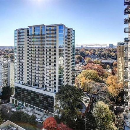 Rent this 2 bed condo on Mayfair Tower Condominiums in 199 14th Street Northeast, Atlanta