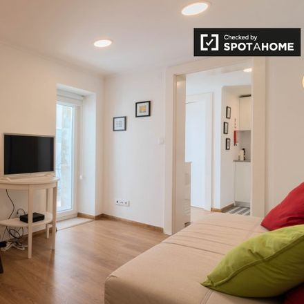 Rent this 1 bed apartment on Travessa Teixeira Júnior in 1300-113 Lisbon, Portugal