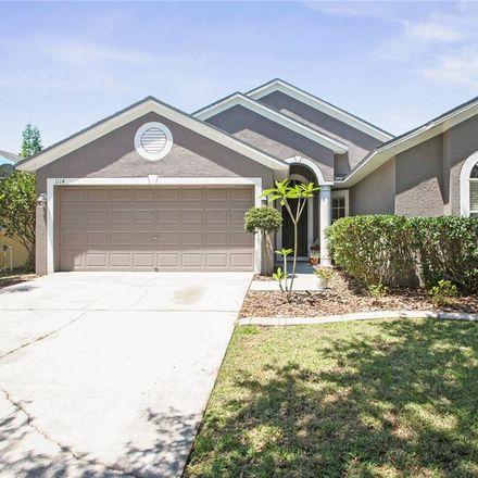 Rent this 3 bed house on 1114 Lumsden Pointe Blvd in Valrico, FL