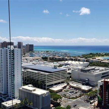Rent this 2 bed condo on 1288-1296 Kapiolani Boulevard in Honolulu, HI 96814