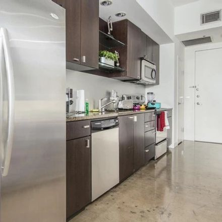 Rent this 1 bed apartment on 300 N Akard St in Dallas, TX 75201