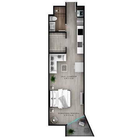 Rent this 0 bed apartment on East El Sol Avenue in Barranco 15063, Peru