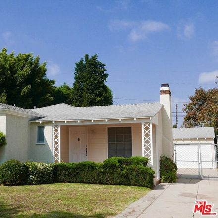 Rent this 2 bed house on S Bentley Ave in Los Angeles, CA