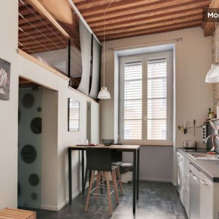 Rent this 1 bed apartment on Lyon in Lyon 1er Arrondissement, AUVERGNE-RHÔNE-ALPES