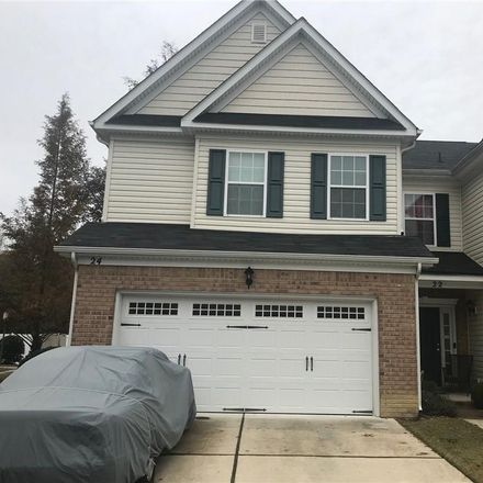 Rent this 3 bed townhouse on 22 Frazier Court in Hampton City, VA 23666