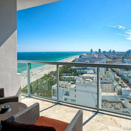 Rent this 2 bed condo on 101 20th Street in Miami Beach, FL 33139