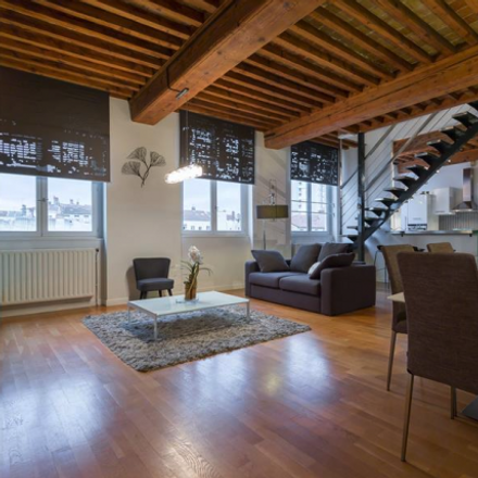 Rent this 2 bed apartment on 6 Rue Dumont in 69004 Lyon, France