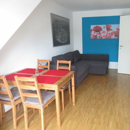 Rent this 1 bed apartment on Sorbenstraße 4 in 60437 Frankfurt, Germany