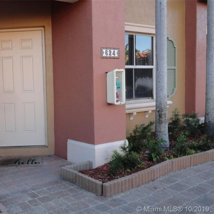 Rent this 3 bed townhouse on 624 Southwest 107th Avenue in Pembroke Pines, FL 33025