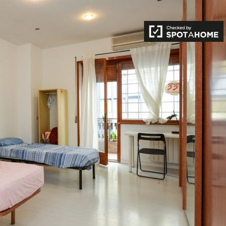 Rent this 6 bed room on Via di Monte Verde in 00152 Rome RM, Italy