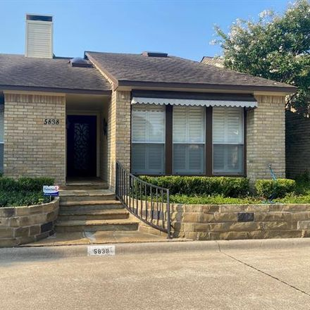 Rent this 2 bed house on 5838 Preston Valley Drive in Dallas, TX 75254