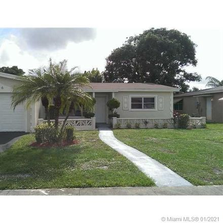 Rent this 3 bed house on 4176 Northwest 48th Avenue in Lauderdale Lakes, FL 33319