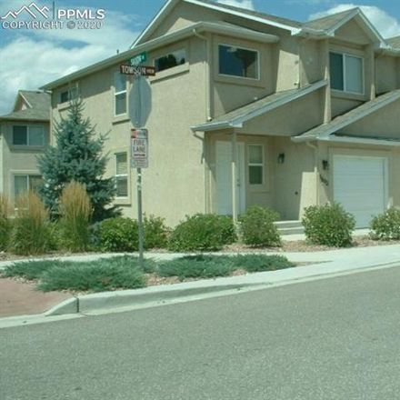 Rent this 3 bed townhouse on 5602 Towson View in Colorado Springs, CO 80918